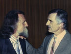 Dennis Weaver and Christopher Hills L.I.F.E Foundation
